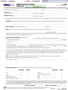 custody agreement template ontario agreement to lease residential form