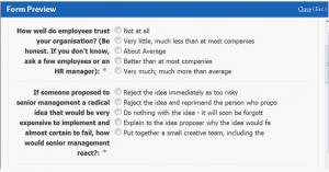 customer survey template surveys
