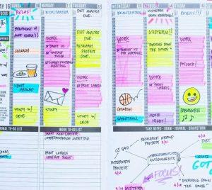 daily schedule planner photo original e