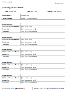 daily to do list templates minutes template general meeting minutes template with table format