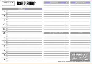 day planner template day planner template