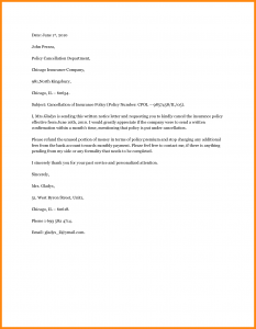 death announcement template claim notice letter cancellation letter samples image resizeudc