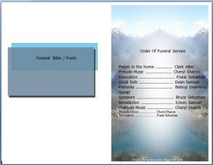 death announcement template free funeral program template microsoft word org