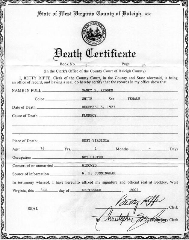 Death Certificates Templates | Template Business