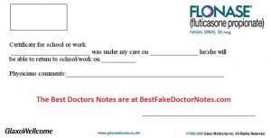 dentist note for work doctors notes