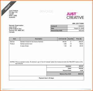 deposit receipt template cash invoice invoice x