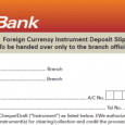 deposit slips example indemnity form