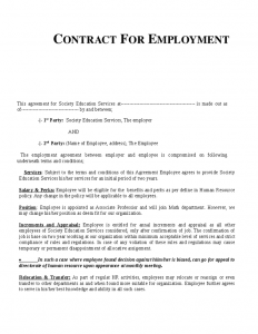 dept collection letter contract of employment template ptpwxhi