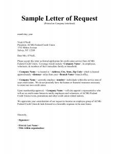 dept collection letter request letter sample image