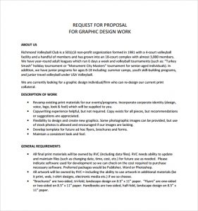 design proposal template example of graphic design proposal