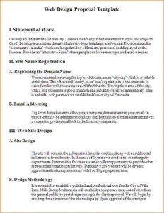 design proposal template website design proposal template web design proposal template