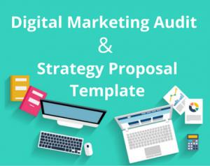 digital marketing strategy template digital marketing audit and strategy proposal template