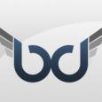 dj business card bd logo
