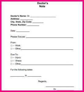 doctors excuse for work from hospital doctor noteexcuse template with doctors note