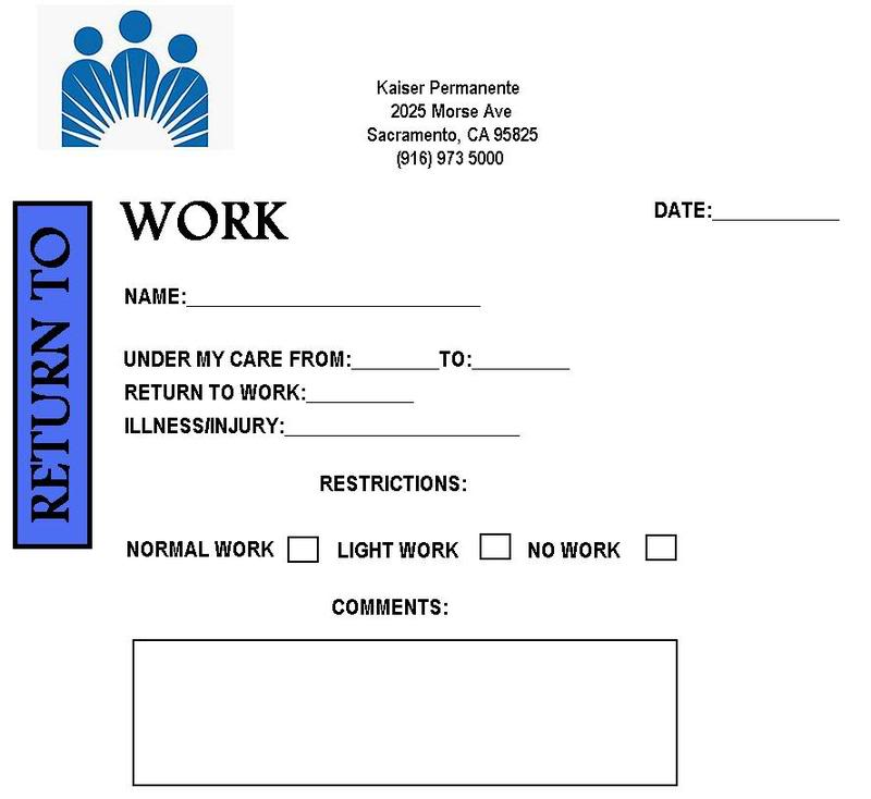 doctors excuse for work pdf
