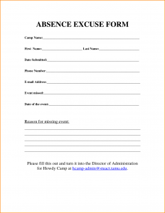 doctors excuse forms work excuse template