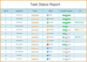 doctors note for work template status update template task status report