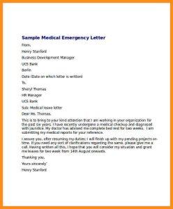 doctors note template free download medical leave letter from doctor medical emergency leave letter