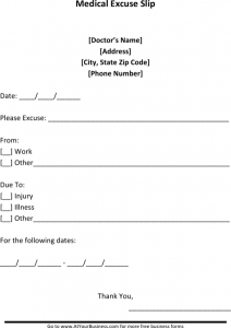 doctors note template free download sample blank doctors note for missing work excuse