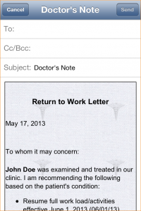 doctors notes for school how to make a fake doctors note for work img