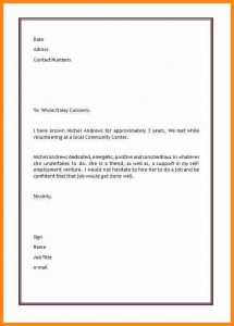 donation acknowledgement letter character reference letters for a friend
