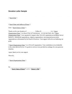 donation acknowledgement letter donation acknowledgement letter tax deductible page x