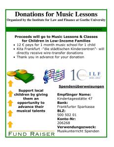 donation flyer template sample fundraiser flyer template