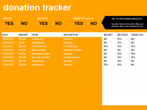 donation form template donation tracking template lt nzdzxn