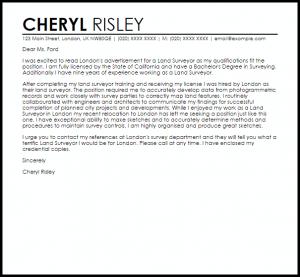 donation request letter template land surveyor