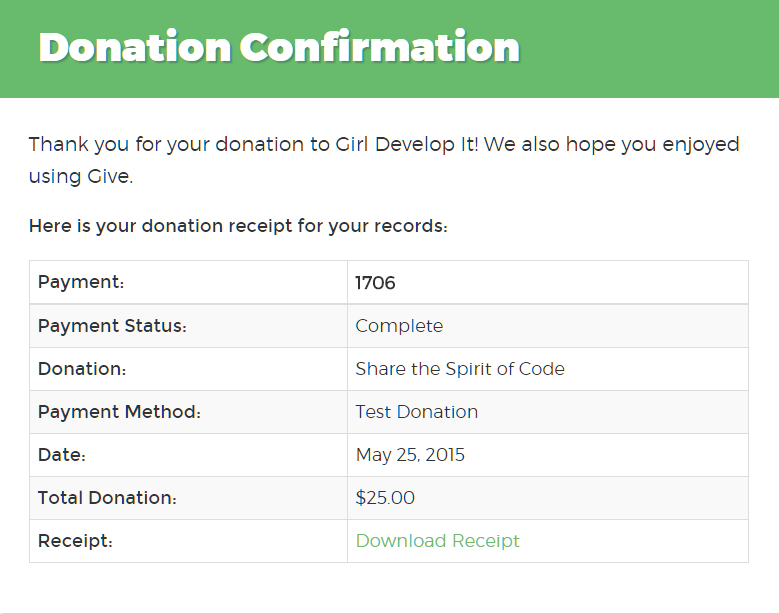 donation request template