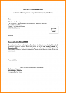 donation thank you letter template letter of indemnity sample