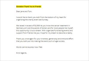 donor thank you letter download donation thank you letter template
