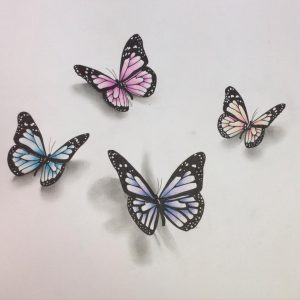 drawing of batman d butterfly pencil sketch butterfly drawings art ideas design trends