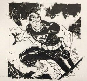drawing of batman kent shakespeare