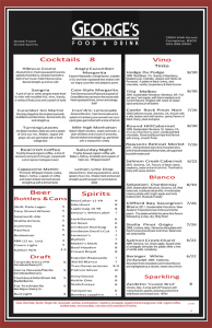 drink menu template sample cocktail menu template x