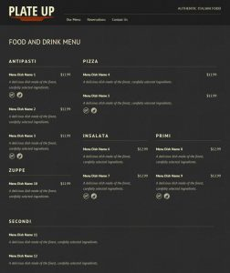 drink menu templates fdm complex layout example x