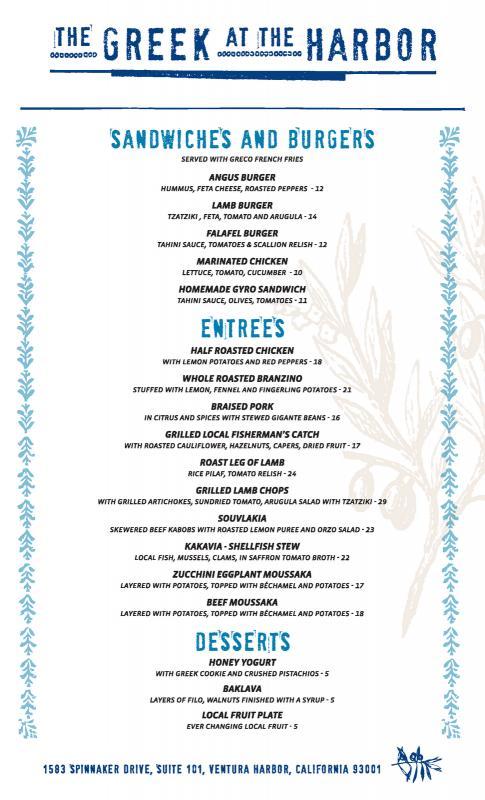 drinks menu templates