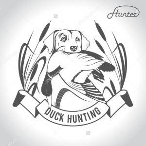 duck hunting logos dog hunting duck logo