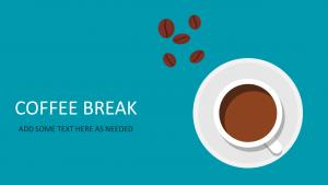 easy budget template title slide keynote template coffee break