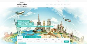 ecommerce website template screen