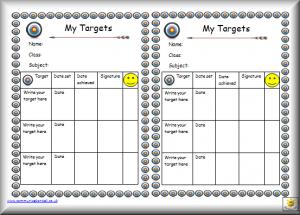 editable bookmark template at