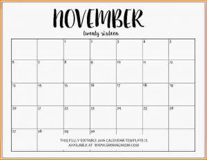 editable calendar template editable calendar fully editable november calendar template in ms word