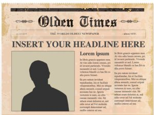 editable newspaper template editable powerpoint newspapers template
