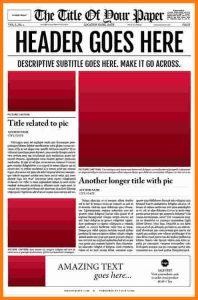 editable newspaper template latex newspaper template oldstylenewspapertemplatedesign