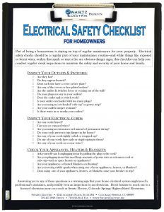 electrical inspection checklist swartzelectricelectricalsafetychecklist