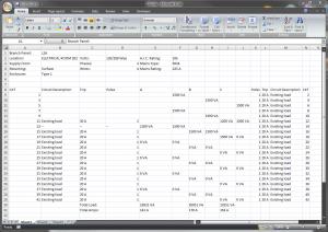 electrical panel schedule template original bf e fa bca dbfbccef