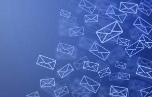 email back ground emails with blue background