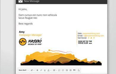 email signature design professional email signature
