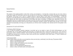 email signature for college student student portfolio introduction sample