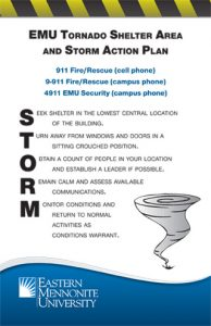 emergency response plan template new storm shelter sign